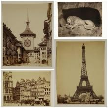 Lot 290: 21 Late 19th & early 20th c. photos of Europe.