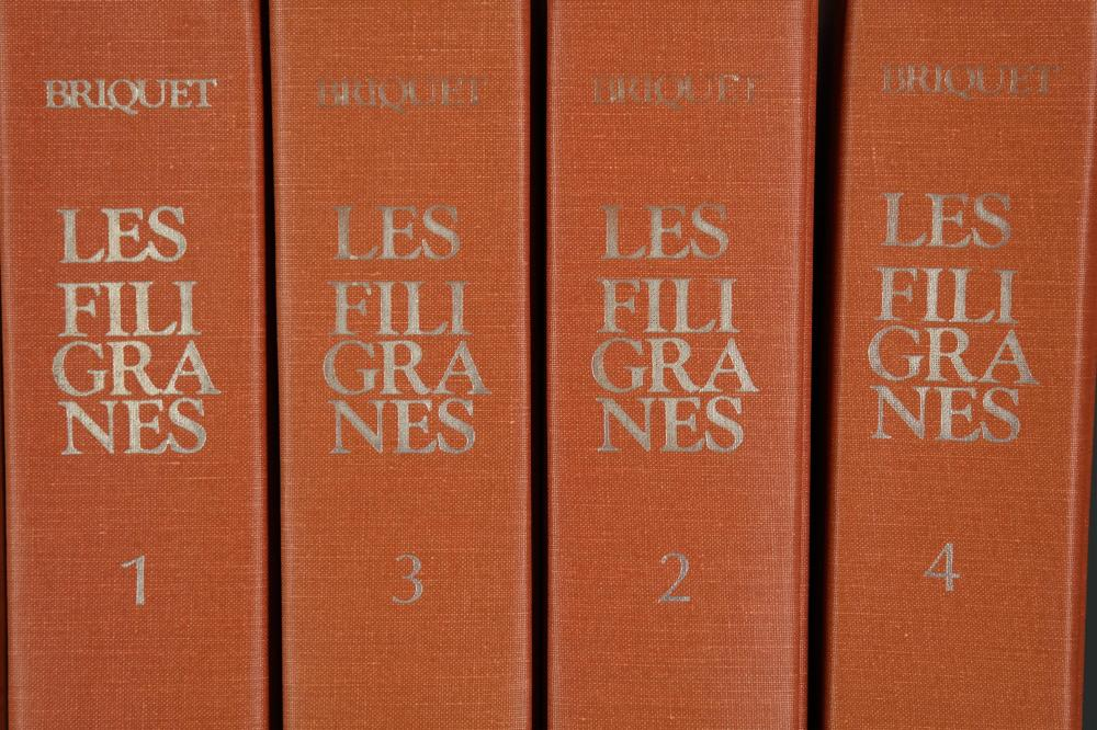 Lot 251: 6 vols. Les Filigranes.