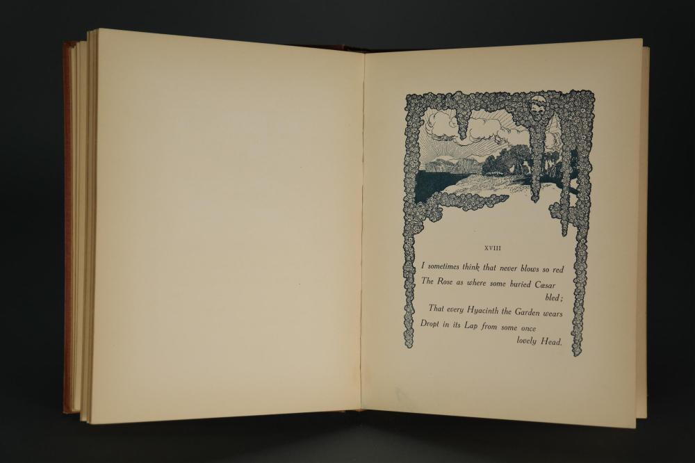 Lot 264: Khayyam. Rubaiyat. Illustrated by Rene Bull.