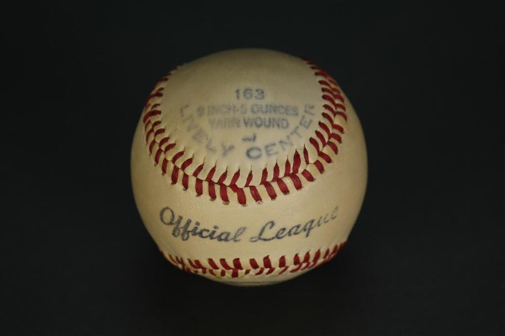 Lot 138: Joe Dimaggio Signed Baseball.