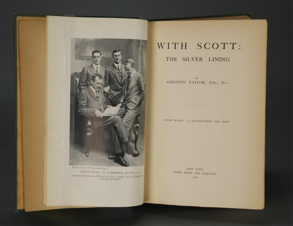 Lot 301: Taylor. With Scott: the Silver Lining. 1916. 1st.