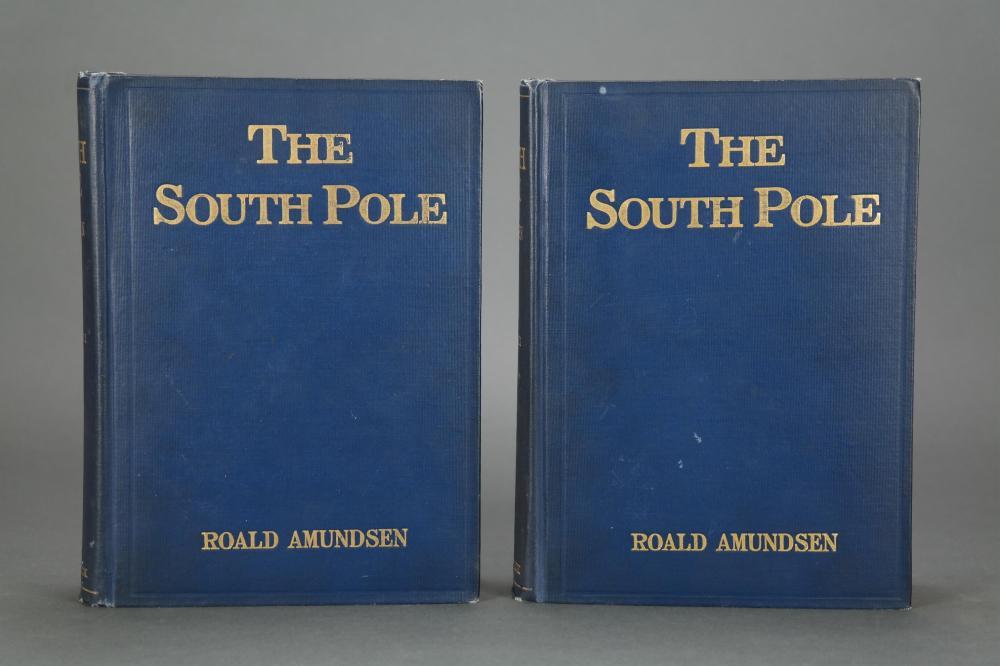 Lot 299: Amundsen. The South Pole. 1st US. Amundsen's copy.