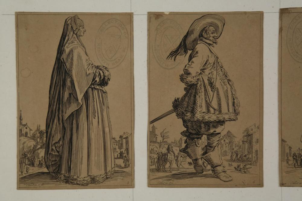 Lot 337: After Callot. La Noblesse (Lieure 549-560).