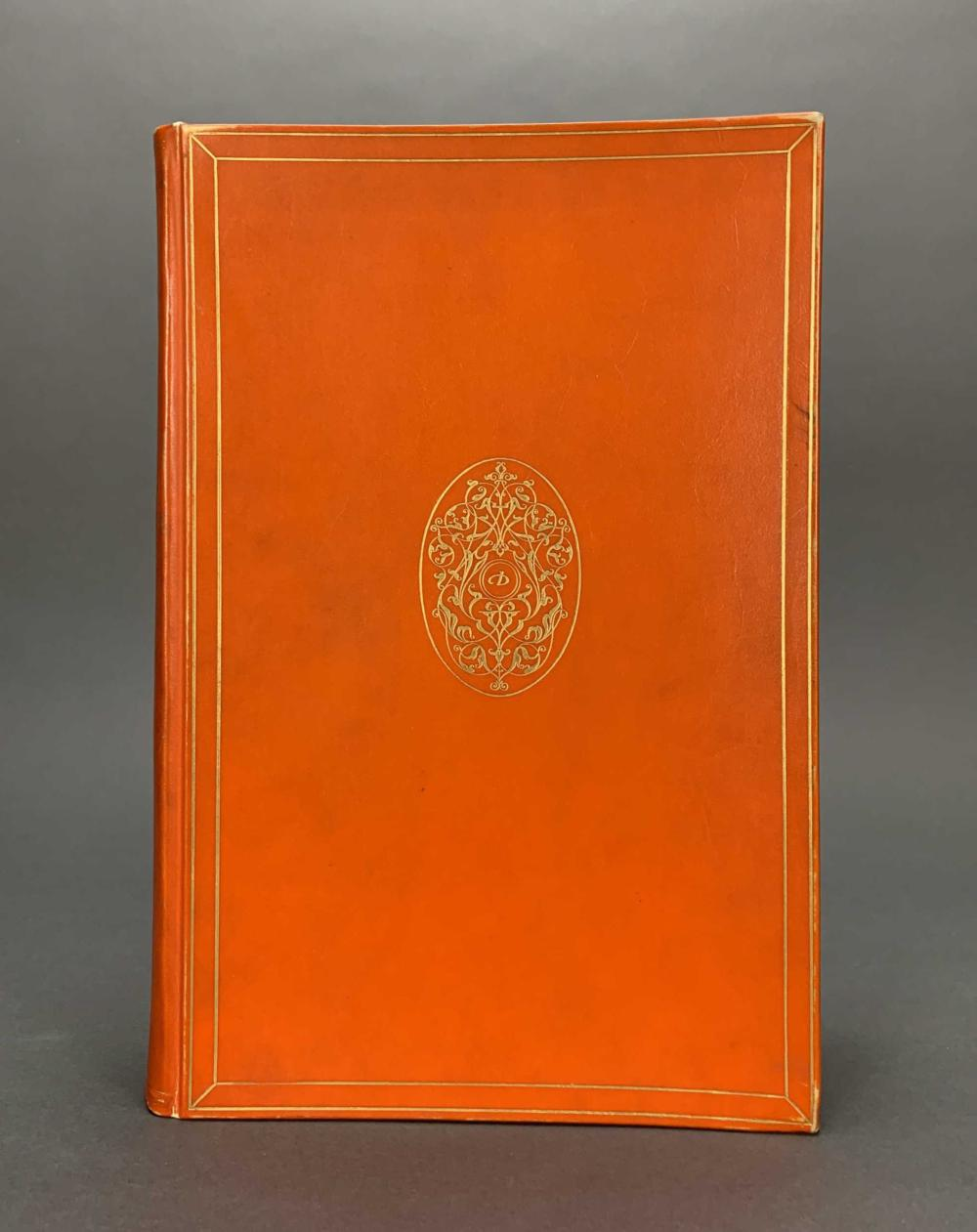 Lot 205: Dante. La Divina Commedia. Nonesuch Press. 1928.