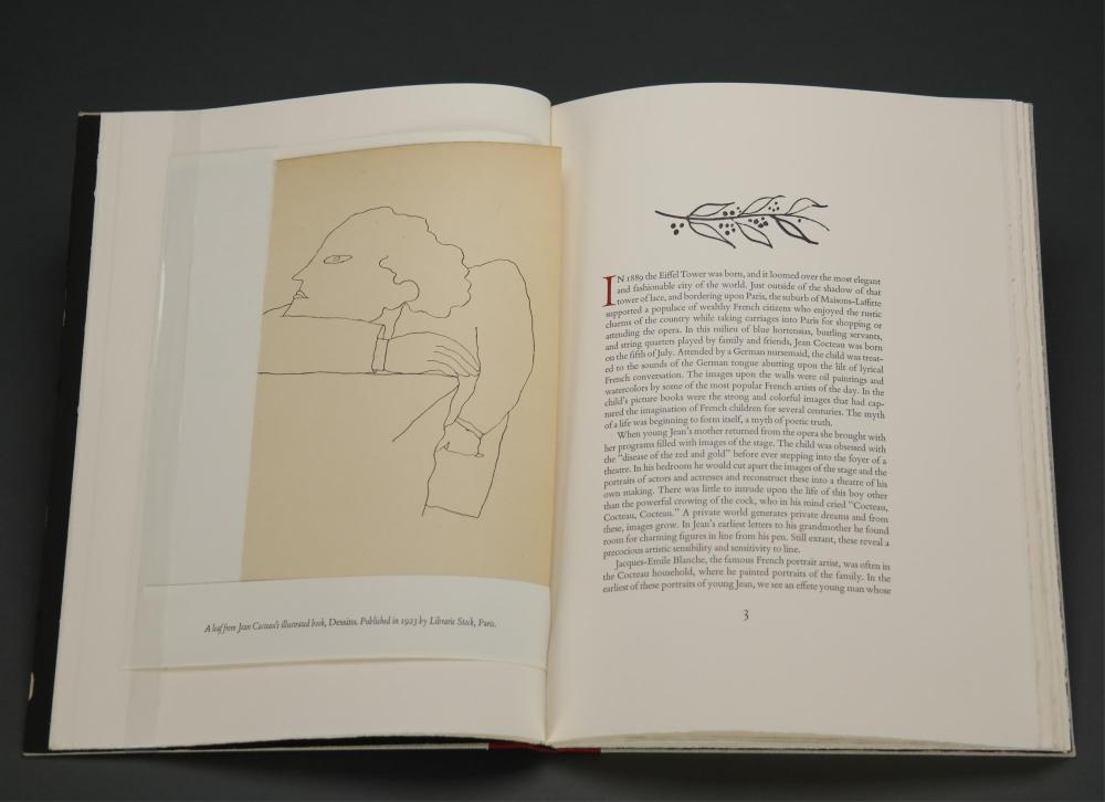 Lot 236: Jean Cocteau & The Illustrated Book. Signed. 1990.