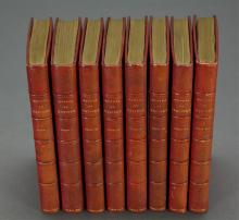 Lot 174: 8 vols. The Works of Molière. 2nd ed. 1697.