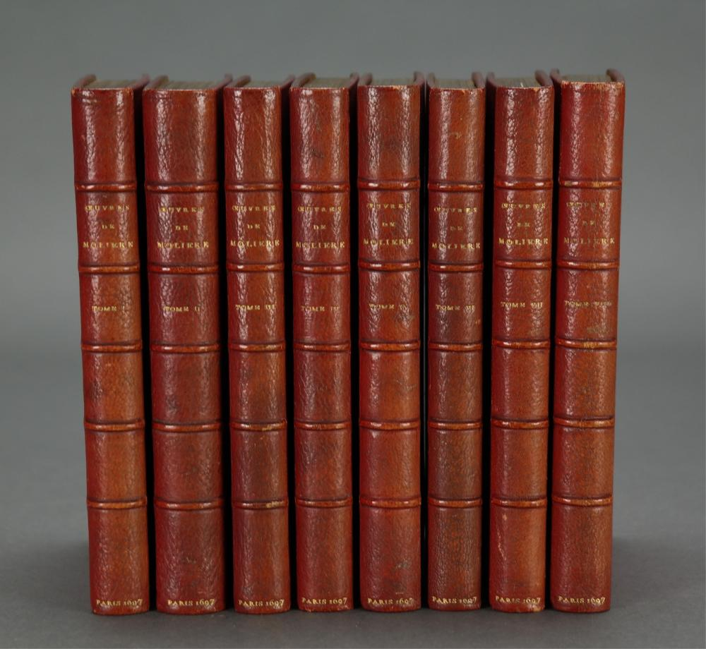 8 vols. The Works of Molière. 2nd ed. 1697.