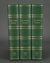 Lot 321: 3 vols. Les Oeuvres d'Euclide. Peyard. 1814-1818.