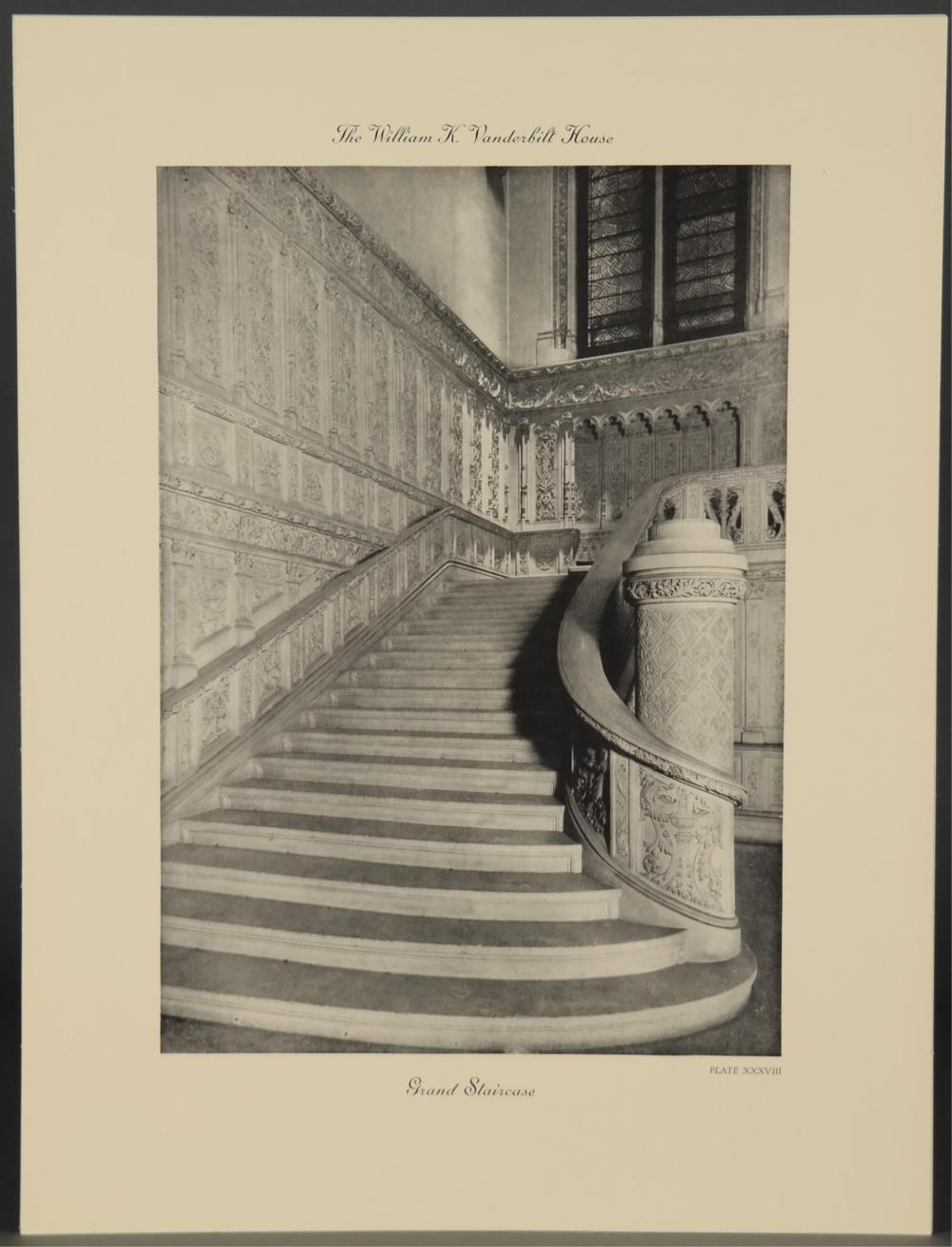 Lot 223: A Monograph of the William K. Vanderbilt House.