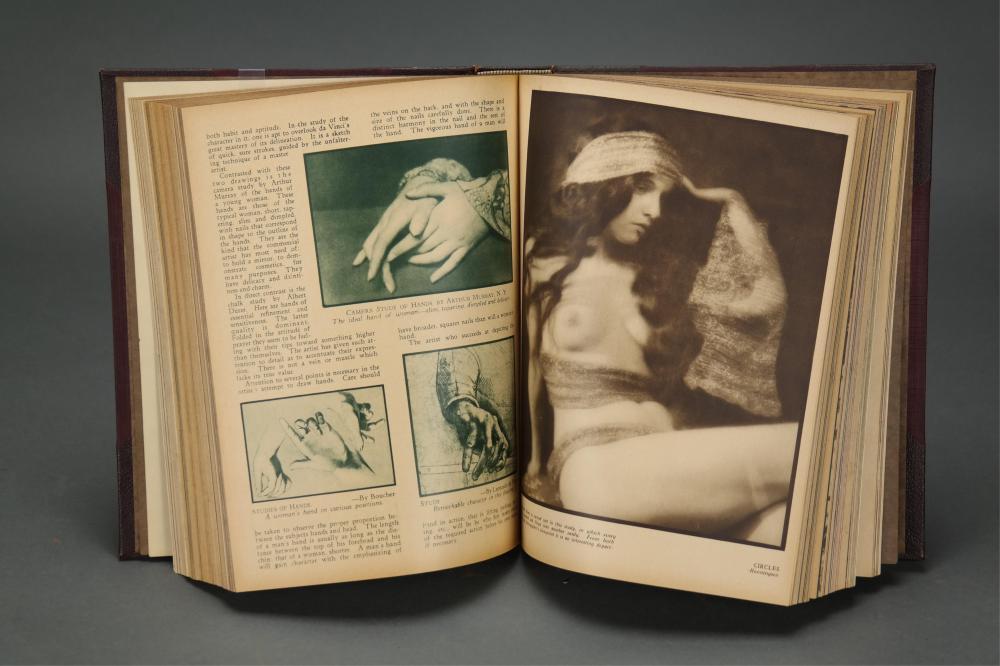 Lot 278: Art Studies. 2 vols. Early 20th century.