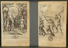 Lot 338: 10 Plates. Publii Virgilii Maronis Opera. 1658.