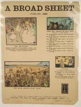 Lot 228: A Broad Sheet. 9 issues, 1902. Jack Yeats, others.