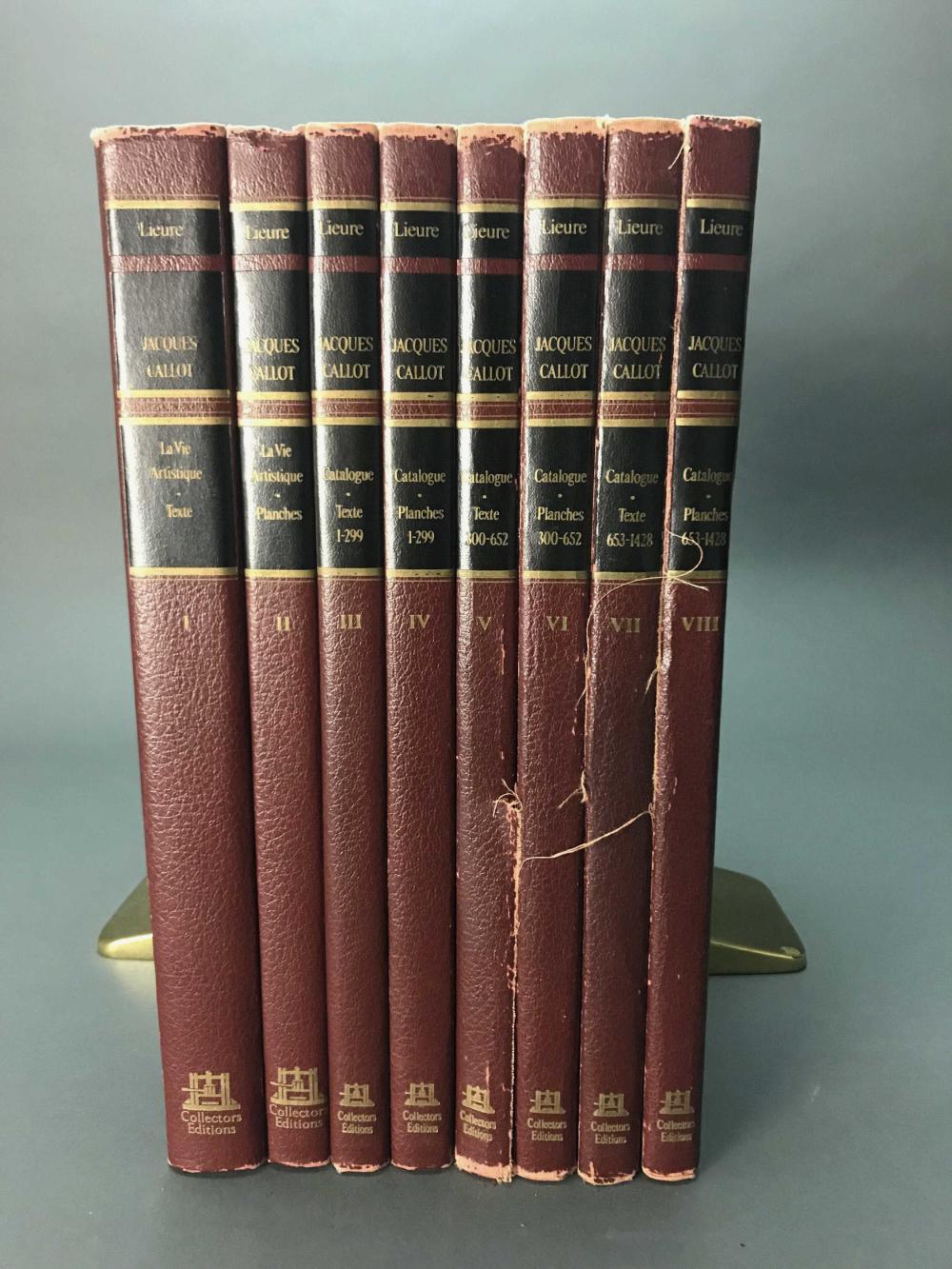 Lot 467: 7 vols. Jacques Callot. Catalogue Raisonnes.