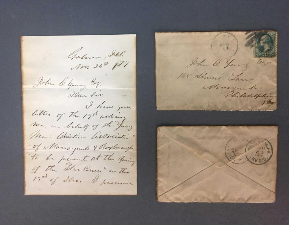 Ulysses S. Grant. ALS. 1879.
