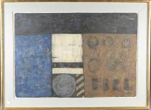 Eduardo Tamariz, Muralla, 1969, Pastel on Paper.