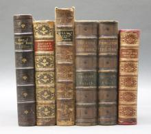 6 Vols incl: WILLIAM BLAKE. 1868, 9 plates.
