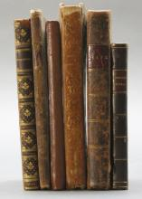 6 Books incl: LETTERS OF J. DOWNING, 1835.