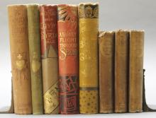 8 Vols incl: Alcott. AN OLD-FASHIONED GIRL. 1870.