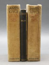 4 Vols: 2 prtgs of ULYSSES, POMES PENYEACH, EXILES
