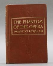 THE PHANTOM OF THE OPERA. 1st US ed., w/ imprint.