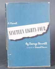 2 Books: Orwell 1st US edition + signed Isherwood.