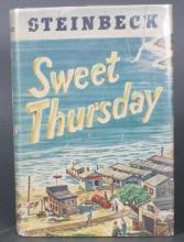 2 Steinbeck firsts: SWEET THURSDAY + CANNERY ROW.