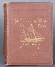 Verne. THE TOUR OF THE WORLD IN EIGHTY DAYS. 1873.