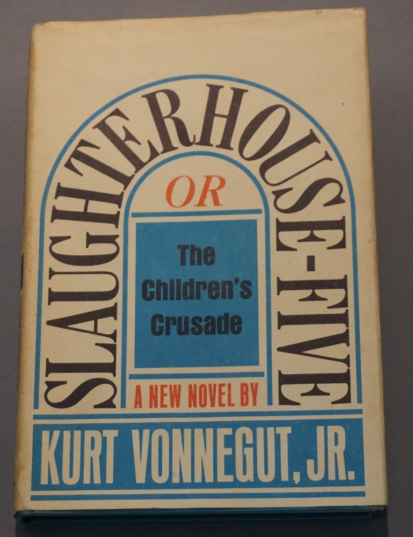 an overview of the slaughterhouse five in 1969 by vonnegut Slaughterhouse five is a 1969 anti-war novel by satirical author kurt vonnegut his best known work, the novel represents vonnegut's personal experiences as a.