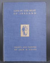 LIFE IN THE WEST OF IRELAND. Inscr by Lolly Yeats.