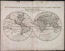 Mappa Mondo O Vero Carta Generale...    Map.