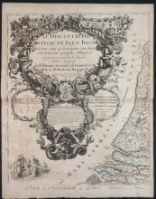 4 Maps incl: Regno Di Danimarca. 1697.