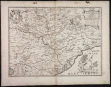 5 Maps incl: Il Lazio Con le sue piu Cospicue...