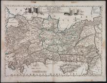 2 Maps: Stato Del Gran Turco + Asia Minoris.