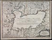 Novissima, Et Accurata Maris Caspii. 1723.