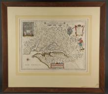 Nova Virginiae Tabula. Map. C. 1630-1663.