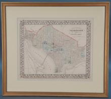 5 Maps: 1 Mitchell's, 4 Johnson's. DC, Mexico, etc