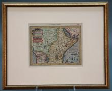 Abissinorum Regnu. Map by Mercator and Hondius.