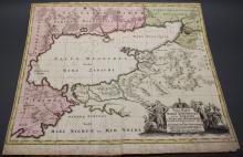 Seutter. Nova Mappa Geographica Maris...