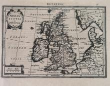 36 maps from Mercator, Atlas Minor, [ca 1610-1651]