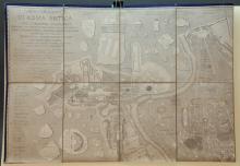 Pianta Topografica Di Roma Antica... 1840. Map.