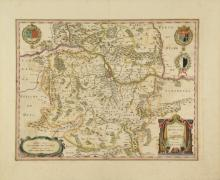 9 maps, mostly France. Jansson, [ca 1640s-1650s].
