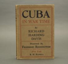 2 Books incl: Davis. Cuba in War Time. 1897.