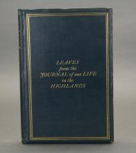 [Helps]. Leaves...Life in the Highlands.1848-1861.
