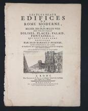 10 plates + engr title: Les Plus Beaux Edifices...