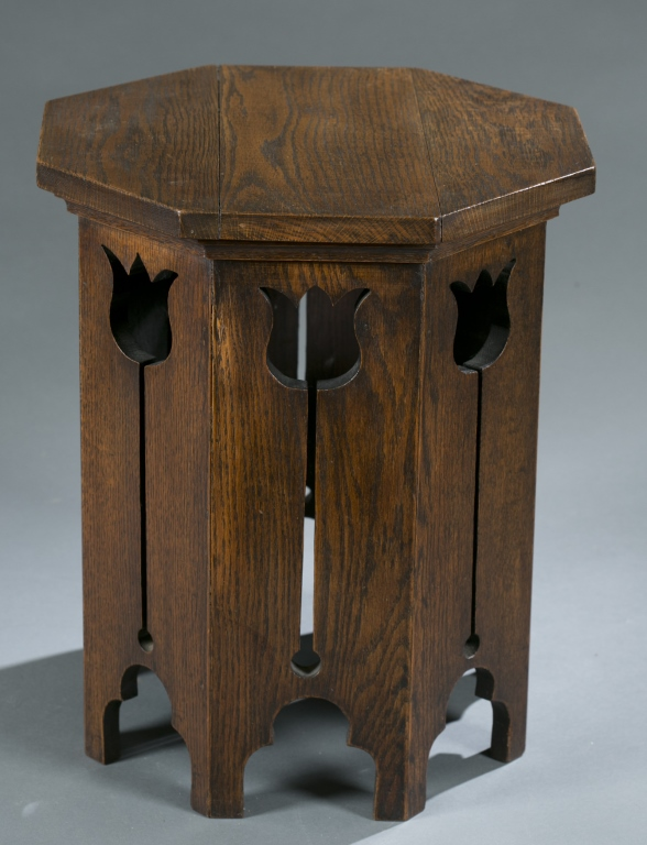 Liberty Co Style Arts And Crafts Tabouret