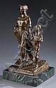 Baker, Bryant Percy (Am., 1881-1970). Bronze sculpture,