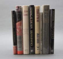 8 Julian Barnes signed books incl. METROLAND.