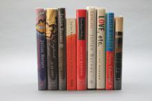9 books signed by Julian Barnes incl CROSS CHANNEL