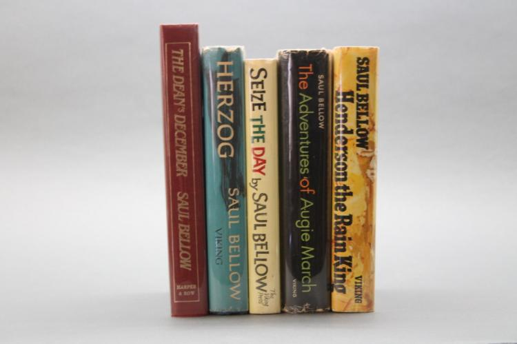5 First Editions: Saul Bellow.