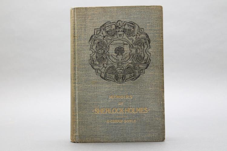 Doyle. MEMOIRS OF SHERLOCK HOLMES. 1894. 1st US ed